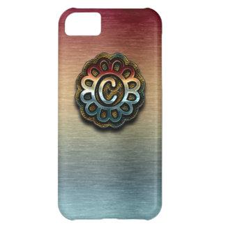 Monogram Precious Metals iPhone 5C Cover