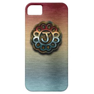 Monogram Precious Metals J iPhone SE/5/5s Case