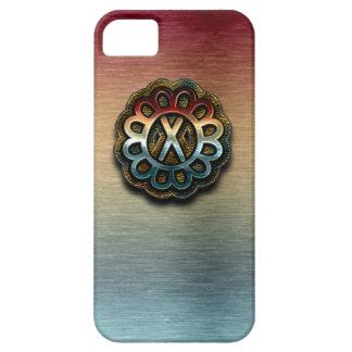 Monogram Precious Metals X iPhone 5 Case