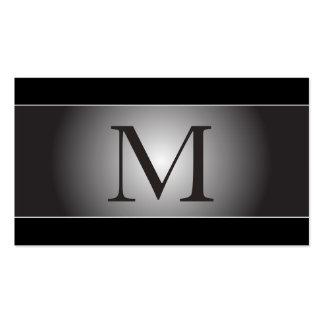 Monogram Professional Elegant Business Cards