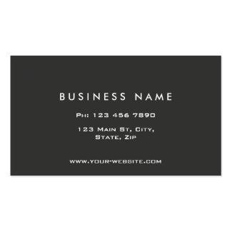 Monogram Professional Elegant Modern Black Business Card Templates