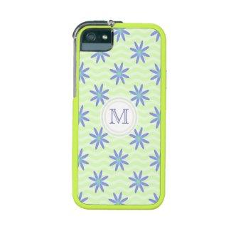 Monogram Purple Daisy iPhone 5/5S Case