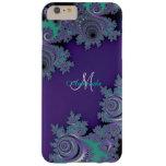 Monogram Purple Fractal Lace  iPhone 6 Plus Case