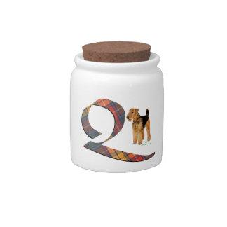 Monogram Q Candy Dish