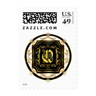 Monogram Q Fits all Get Other Products W/Monogram Postage