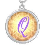 Monogram Q Necklace