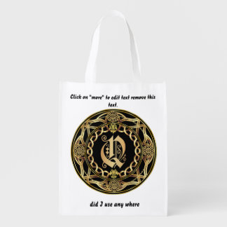 Monogram Q Shopping Bag