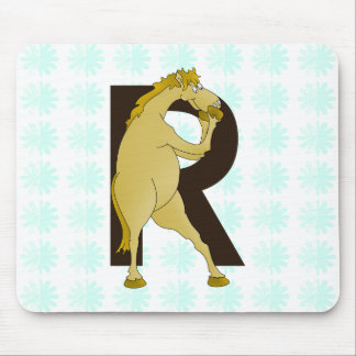 Monogram R Agile Pony Customized Mouse Pad