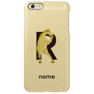 Monogram R Agile Pony Personalised Incipio Feather Shine iPhone 6 Plus Case
