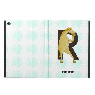 Monogram R Agile Pony Personalised Powis iPad Air 2 Case