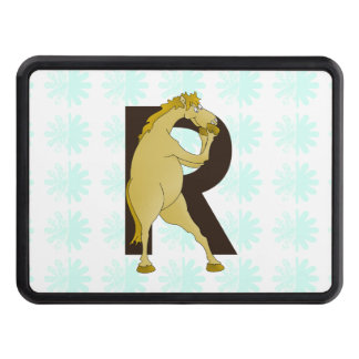 Monogram R Cartoon Pony Customized Tow Hitch Covers