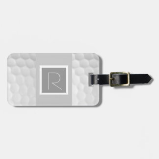 Monogram R Golf Ball Luggage Tag