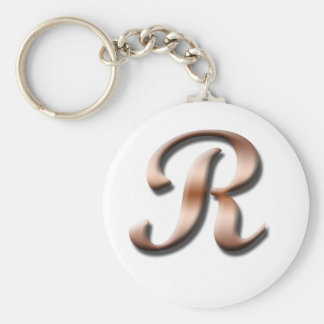 Monogram R Keychain