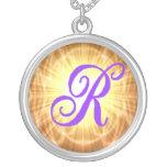 Monogram R Necklace