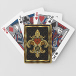 Monogram R One of a kind View notes please Playing Cards