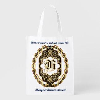 Monogram R Shopping Bag Reusable
