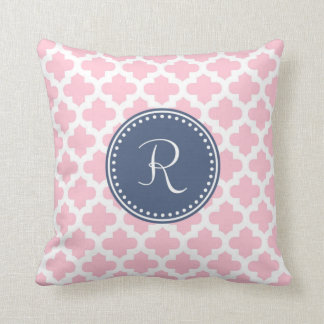 Monogram 'R' Throw Pillow