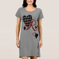 Monogram R Women's T-Shirt Dress