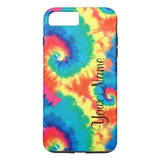 Monogram Retro Tie Dye iPhone 7 Plus Case