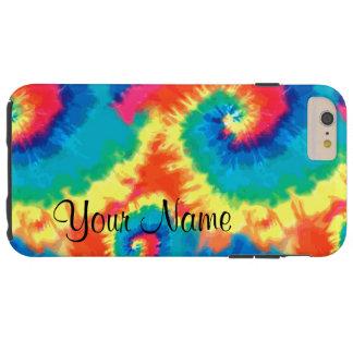 Monogram Retro Tie Dye Tough iPhone 6 Plus Case