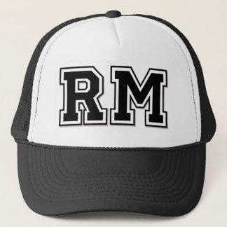Monogram 'RM' Trucker Hat
