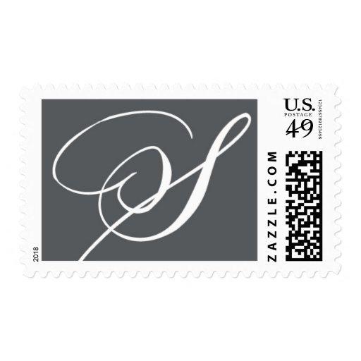 Monogram S 5 by Ceci New York Postage Stamp