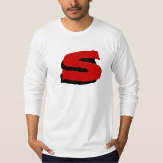 "Monogram ""S"" Bold text design Shirt"