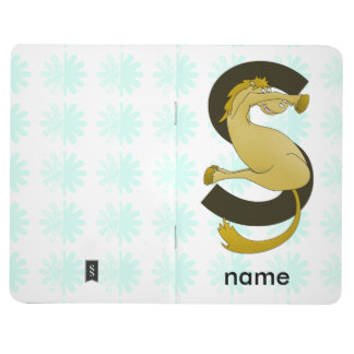 Monogram S Flexible Horse Personalised Journal