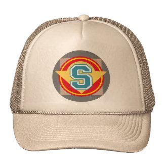 "Monogram ""S"" initial Trucker Hat"