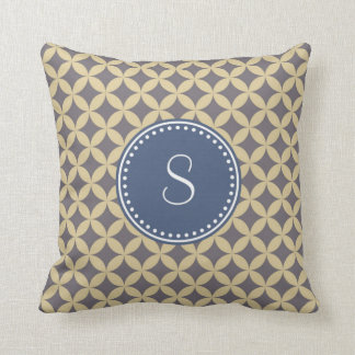 Monogram 'S' Throw Pillow