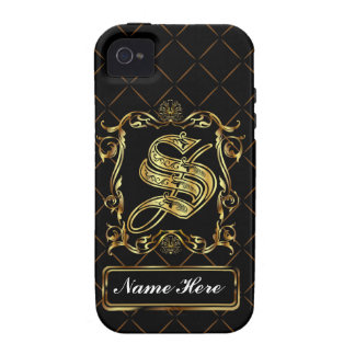 Monogram S Vibe Important View Notes Please Case-Mate iPhone 4 Cover