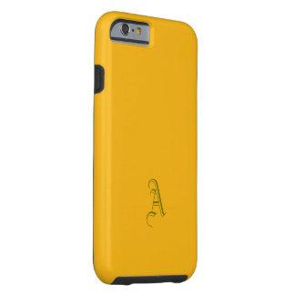 Monogram Saffron Tone iPhone case
