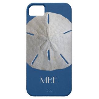 Monogram Sand Dollar on Blue iPhone 5 Cases