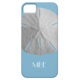 Monogram Sand Dollar on Light Blue iPhone SE/5/5s Case
