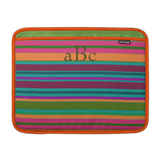 Monogram Santa Fe Colors MacBook Cover MacBook Sleeve