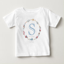 Monogram Sea Whale | Baby Boy | T-shirt