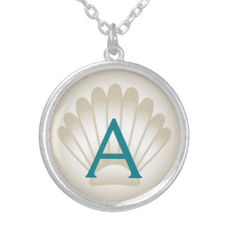 Monogram Seashell Necklace