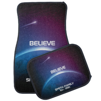 Monogram Series: Believe. Out in Space. Car Mat