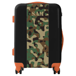 Monogram Series: Camo Your. Luggage