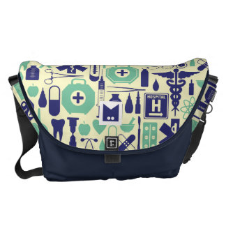 Monogram Series: for Doctors and Nurses. Courier Bag