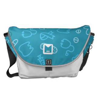 Monogram Series: for Doctors and Nurses. Messenger Bag