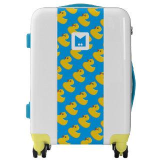 Monogram Series: Kawaii Cute Rubber Ducks. Luggage