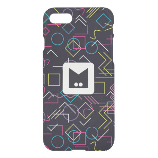 Monogram Series: Memphis Stuck in the Eighties iPhone 8/7 Case