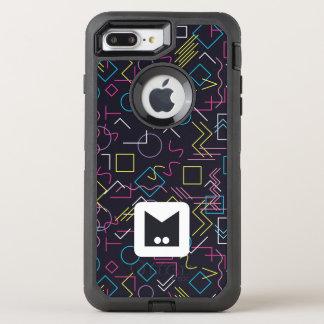 Monogram Series: Memphis Stuck in the Eighties OtterBox Defender iPhone 8 Plus/7 Plus Case