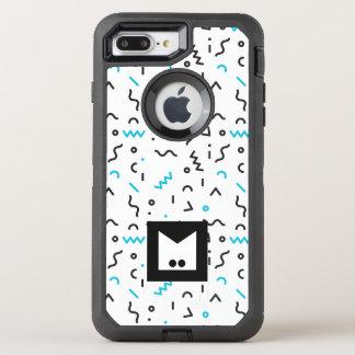Monogram Series: Memphis Stuck in the Nineties OtterBox Defender iPhone 8 Plus/7 Plus Case