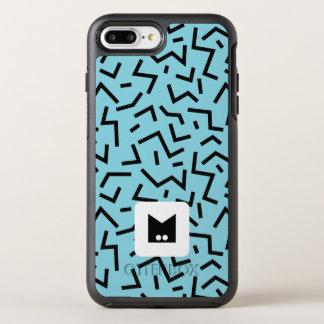 Monogram Series: Memphis Stuck in the Nineties OtterBox Symmetry iPhone 8 Plus/7 Plus Case