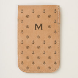 Monogram Series: Nautical. Anchor. iPhone 6/6S Case