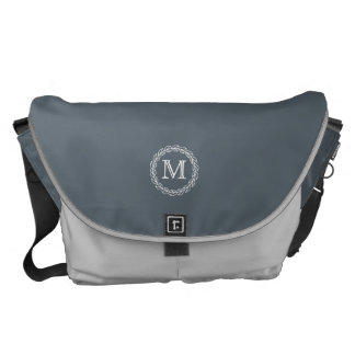 Monogram Series: Wheat Laurel Courier Bag