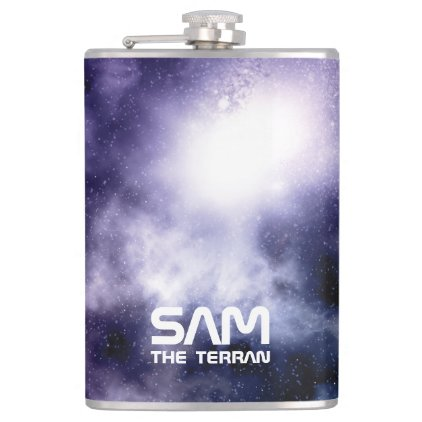 Monogram Series: You The Terran. Funny Gift. Flask