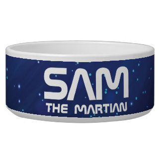 Monogram Series: Your Pet The Martian. Funny Gift. Bowl